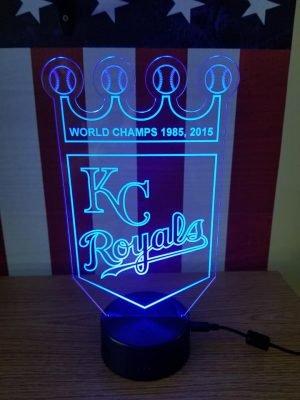 sports LED light Royals
